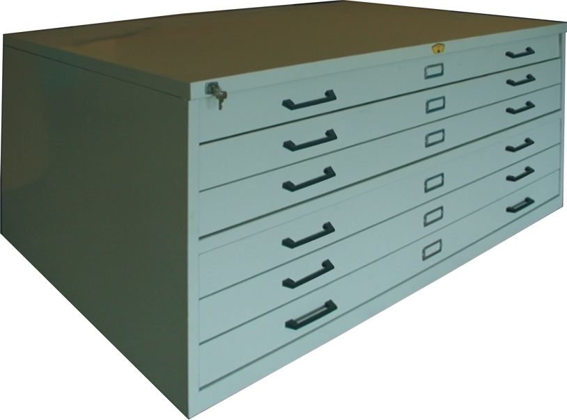 Plan Cabinet - A1 with 6 Drawers