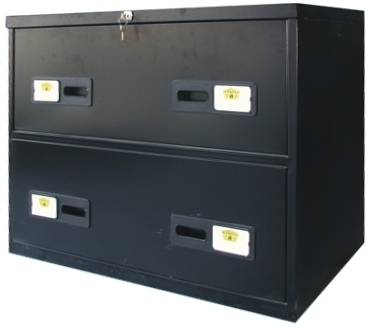 Wide Filing Cabinet - 2 Drawers