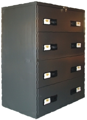 Wide Filing Cabinet - 4 Drawers